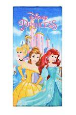 Serviette Disney Princess Cendrillon, la Belle et Arielle pour Enfants Neuf
