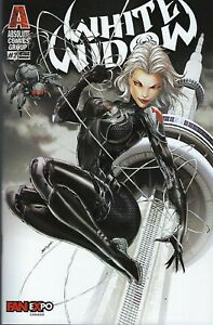 White Widow # 2 Jamie Tyndall Fan Expo Canada Variant Cover !!  NM