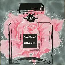 CHANEL - FLORAL CHIC - FINE ART PRINT POSTER 13x19 - PAQ031
