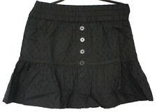 Mini-Damenröcke im A-Linien-Stil aus Baumwolle für die Freizeit
