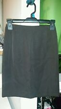 J. Crew Dark Green 100% Wool Fully Lined Pocket Pencil Skirt Size 1Petite