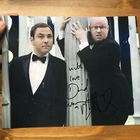 David Walliams Matt Lucas original hand signed autograph photo 8x10 IP