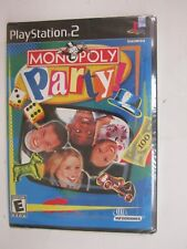Monopoly Party (Sony PlayStation 2, 2002)  BRAND NEW  FACTORY SEALED  FREE SHIPP