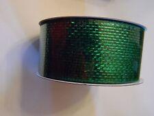 60 Ft Green Deco Mesh Ribbon Craft Wreath Decoration Christmas St.Patricks Day