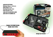 Worksite Portable Car Jump Starter With Air Compressorpumppower Phone Charger