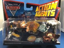 Disney Pixar Cars 2 Action Agents Professor Z & Mater