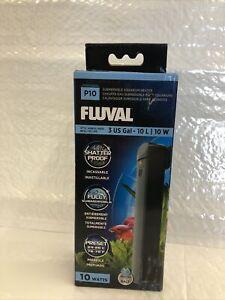Fluval P10 10W 3 US Gal- 10L Submersible Aquarium Heater