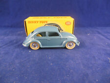 Dinky Toys 181 Volkswagen Beetle in Grey/blue Exceptional Original & Superb VW