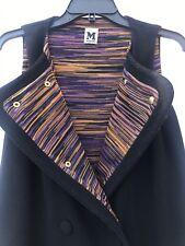 M Missoni Wool Vest, Sleevless Jacket Peacoat