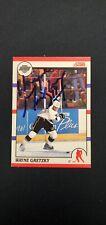 1990-91 SCORE - WAYNE GRETZKY -  #1 IP signed/auto No COA