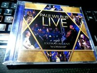 Live: A Night of Extravagant Worship by Paul Wilbur CD 2008 Integrity) Christian