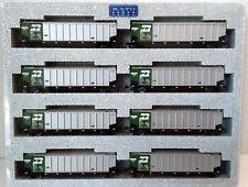 N Scale KATO Bethgon Protein Gondola 'Burlington Northern' (8) Car Set2 106-4651
