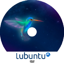 Latest New Release LUBUNTU Linux 19.04 - 32 or 64 Bit DVD Bootable OS