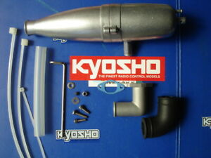 Kyosho MAD FORCE complete exhaust system for nitro engine version