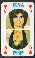 Monty Gum 1970's Gum Card - The Bay City Rollers Music Card - Nine of Hearts