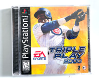 Triple Play 2000 Sony PlayStation 1 PS1 COMPLETE CIB Tested ++ WORKING!