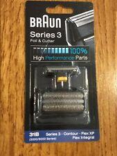 BRAUN Mens Shaver Foil & Cutter 31B 5000 6000 Series 3 Contour Flex
