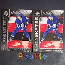 WILLIAM NYLANDER (2 Lot)  2016/17 SP Silver Skates  #SSWN  Toronto Maple Leafs