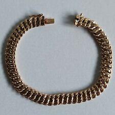 bracelet en or 18 carats maille americaine 9.8 grs