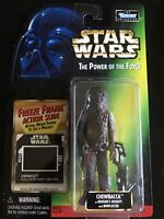 Star Wars POTF Chewbacca  Freeze Frame Action Slide Action Figure Kenner 1998