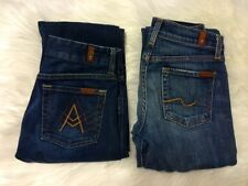 7 for all mankind bundle 2 pairs size 24 A-Pocket Bootcut fit