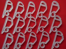 External Christmas Light Gutter Hanging Hooks 50 Gutter Clips Outdoor Lights