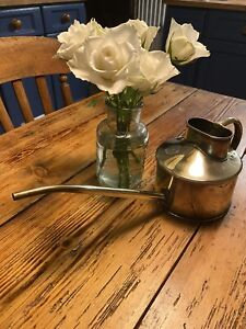 HAWS Small Vintage garden home vintage brass watering can