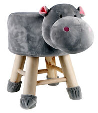 Kids Hippo Face Stool