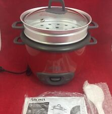 AROMA Rice Cooker & Food Steamer 4-14 Cups Cooked ARC-747-1NGR Red See Listing