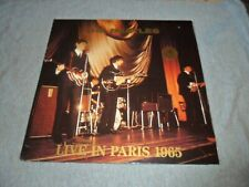 LP/ Vintage The Beatles  Live In Paris 65  Swingin Pig Records  Blue-Grey Vinyl