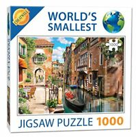 Cheatwell Games Canals Venice World's Smallest Jigsaw Puzzle Kids Game