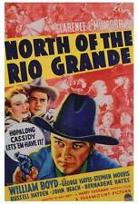 NORTH OF THE RIO GRANDE Movie POSTER 27x40 William Boyd George 'Gabby' Hayes