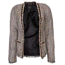 Maison Scotch Fashion Blazer In Multi Colour Tweed