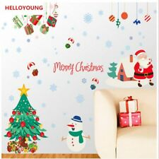 Creative Wandtattoos Christmas Day Decoration Wall Stickers Waterproof Wallpaper