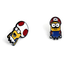 Super Mario Minion Earrings