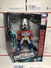New Transformers War for Cybertron Earthrise Leader OPTIMUS PRIME Figure