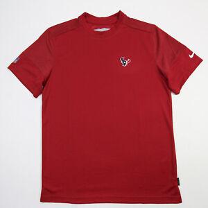 Houston Texans Nike Dri-Fit Short Sleeve Shirt Men's Red Used