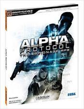 BradyGames Alpha Protocol Espionage RPG Strategy Game Guide Multi-Platform