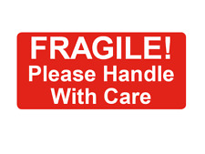 Fragile Please Handle With Care Small Packing Sticky Labels Stickers