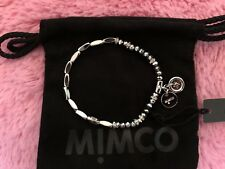 Authentic Mimco Silver Memoir Beaded Wrist JEWELLERY BRACELETS AND BANGLES