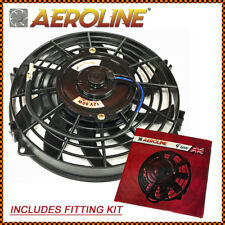 "9"" Aeroline® Electric Radiator / Intercooler 12v Cooling Fan HOT ROD / KIT CAR"