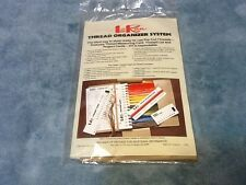 Lo Ran Thread Organizer System 1987 Dal-Craft Needlepoint Embroidery Floss New