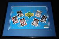 1993 Upper Deck Basketball Framed Uncut Card Sheet Ewing Olajuwon