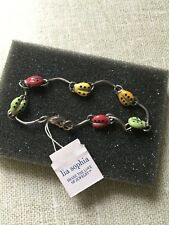 "Lia Sophia  Child's ""Ladybug"" Bracelet with Tag NIB"