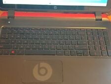 HP Pavilion Beats Special Edition 15-p390nr 15.6in 500gb 8gb ram AMD A10, 1.9GHz