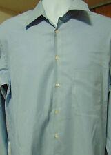 Giorgio Armani  Le Collezioni Blue Striped  Long Sleeve Shirt  16  41 Large