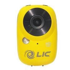 Liquid Image Ego 727 Mountable Mini Extreme Camera 1080P HD WIFI Yellow