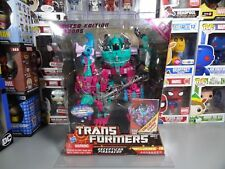 Transformers BBTS Exclusive Decepticons Piranacon Seacons G1 Color Scheme