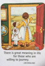 Mary Engelbreit Handmade Magnet-There Is Great Meaning In Life