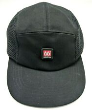 66 DEGREE NORTH CLOTHING 5-panel style black adjustable cap / hat -100% cotton